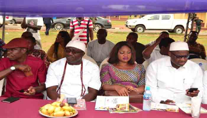 Some dignitaries at the festival